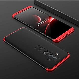 Zore Huawei Mate 10 Pro Kılıf Ays Kapak Siyah Kırmızı