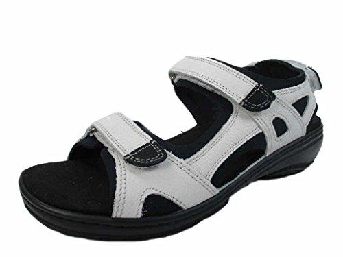 Fidelio Damen Sandaletten Sandale 445007 01 (G) weiß 202101