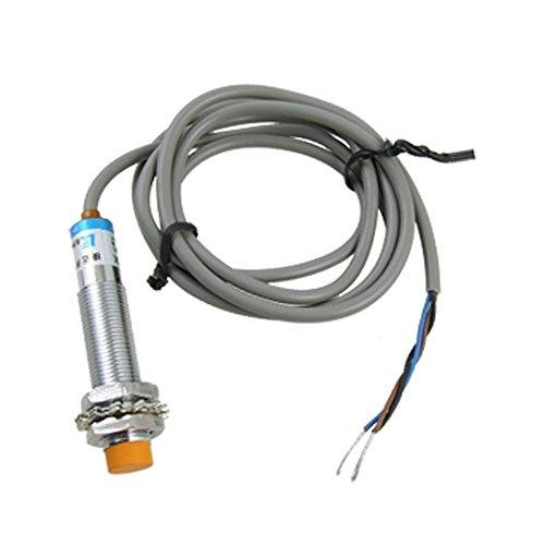 Interruptor del sensor de proximidad inductivo - SODIAL(R)DC6-36V 300mA NPN NO 3-alambres 4mm Tubular Interruptor del sensor de proximidad inductivo LJ12A3-4-Z-BX