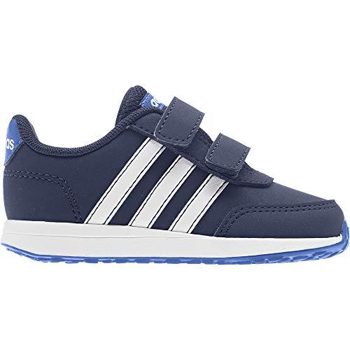 Adidas Vs Switch 2 CMF Inf, Zapatillas de Estar por casa Bebé Unisex, Multicolor (Azuosc/Ftwbla/Azul 000), 19 EU