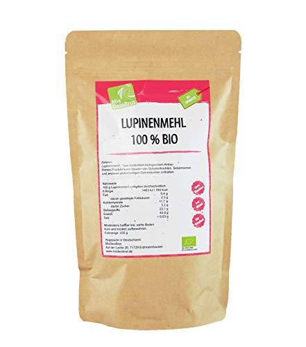 Bio-Lupinenmehl aus deutschem Anbau, MixDeinBrot, pflanzliches Eiweiß, vegan, 1000 g, Eiweißquelle...