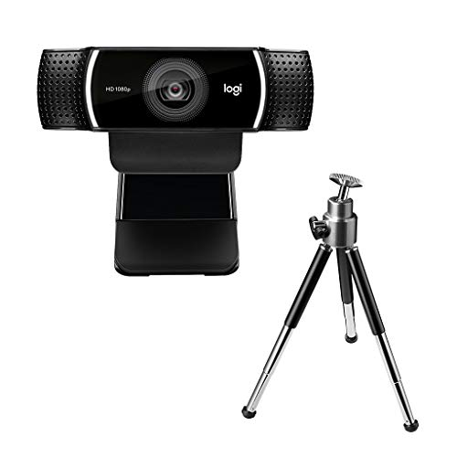 ロジクール ウェブカメラ C922n ブラック フルHD 1080P ウェブカム ストリーミング 自動フォーカス ステレ...