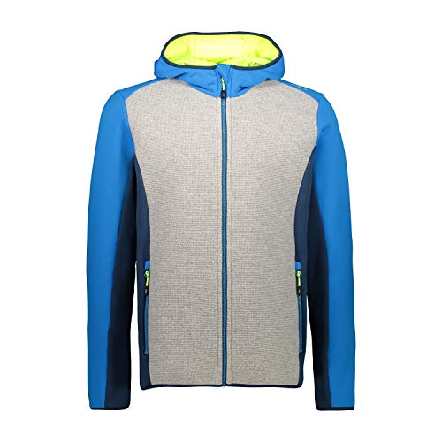 CMP Giacca Stretch Wooltech, Uomo, River, 54, River