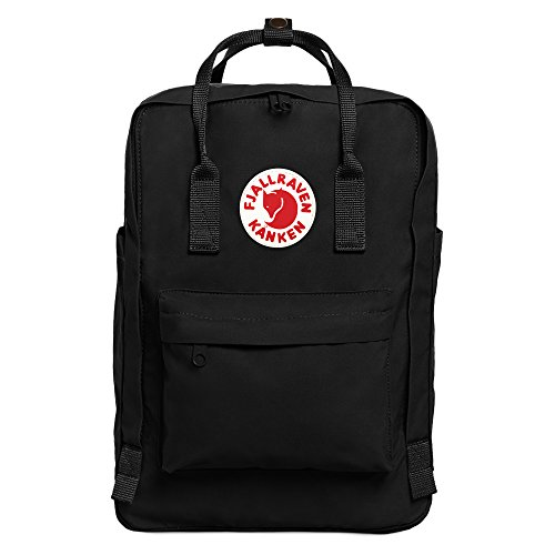 "Fjallraven - Kanken Laptop 15"" Backpack for Everyday, Black"