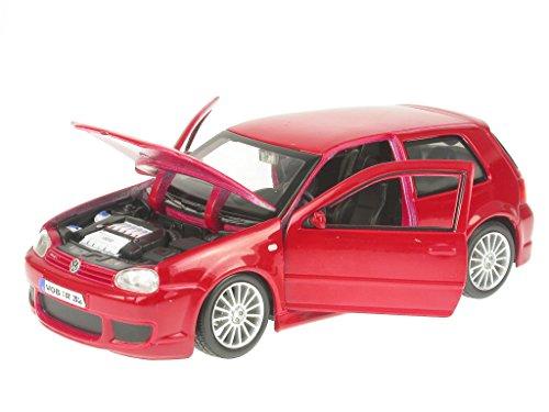 VW Golf 4 R32 rot Modellauto Maisto 1:24