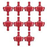 Durevole Piccolo Motore Gas Filtri in Linea Plastica Tagliaerba Accessori per Tagliaerba Motocicletta 10 Pezzi 1 4inch Gas Filtro Carburante in Linea