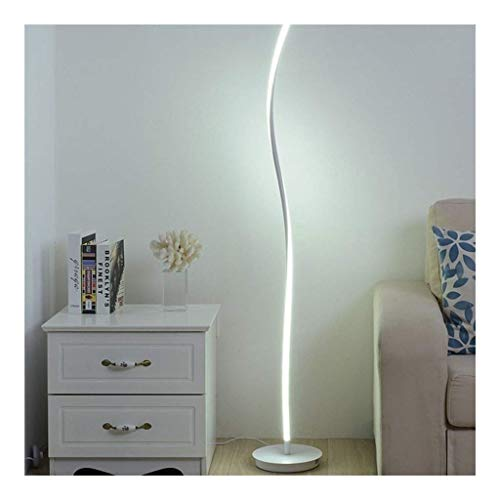 YLJYJ Floor Lamp Standard Lamp Modern Simple Floor Lamp Wrought Iron Floor Lamps For Bedroom Living Room Floor Light Creative Fold Bend Curve Standing Lamp