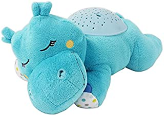 Summer Slumber Buddies Projection and Melodies Soother, Dozing Hippo