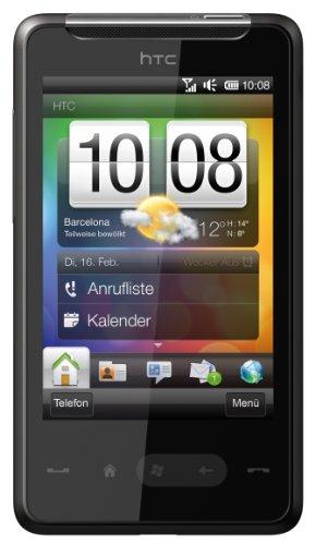 HTC HD Mini Smartphone (5MP Kamera, HSPA, Windows Mobile 6.5 OS) schwarz