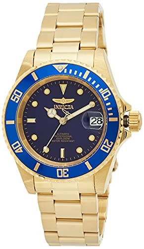 Invicta Men's Pro Diver 40mm Gold Tone Stainless Steel...