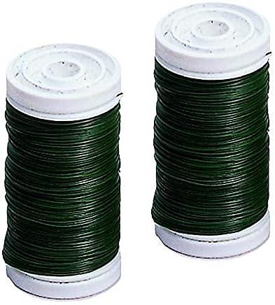 100/g GLOREX fil de fer 0,65/mm Vert 19/x 5.6/x 2/cm