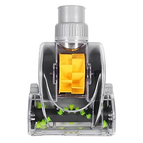 EVTSCAN Mini Cepillo de Piso Turbo, Herramienta para Limpiar Grietas de Cama para aspiradora Universal de 32 mm y 1,25 Pulgadas, Accesorio de Limpieza Profunda para el hogar