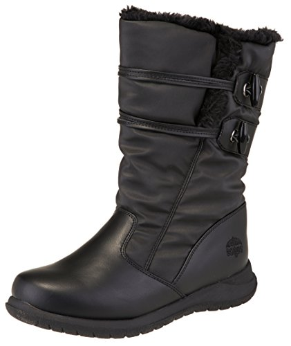 totes Women's Gloria Waterproof Winter Snow Boot (9 B(M) US, Black)