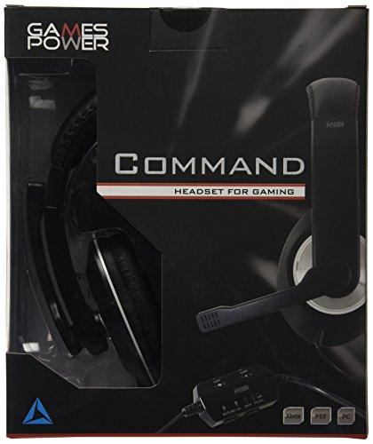 Logic3 GP295 Command Headset for Gaming (Xbox /360/PS3/PC DVD) - [Edizione: Regno Unito]
