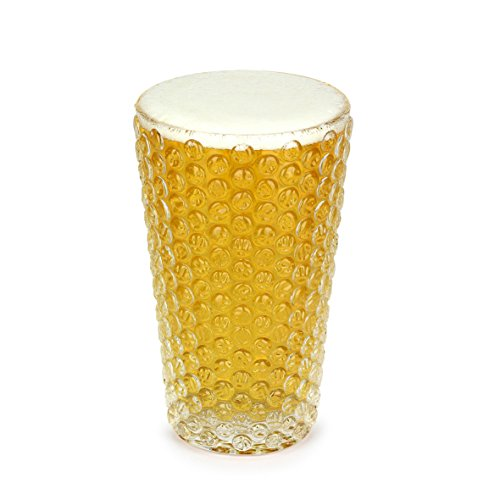 Thumbs Up Bierglas - Poppin Pint (Barbuzzo), kunststof, wit, 18 x 12,5 x 12,5 cm