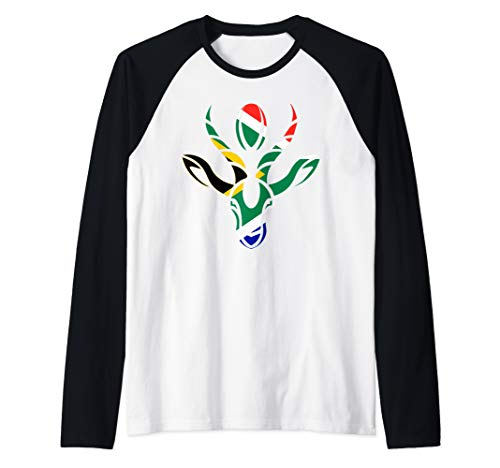 South Africa Rugby World Champion Jersey Springboks Gift Raglan Baseball Tee