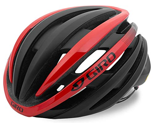 Giro Cinder MIPS Bicycle Helmet, Mat Black/Bright Red, S