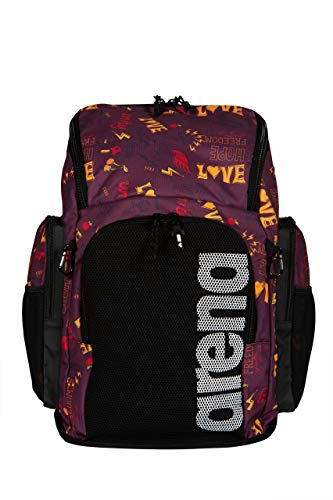 Arena Team Backpack 45 Allover Bags, Adultos Unisex, Love, TU