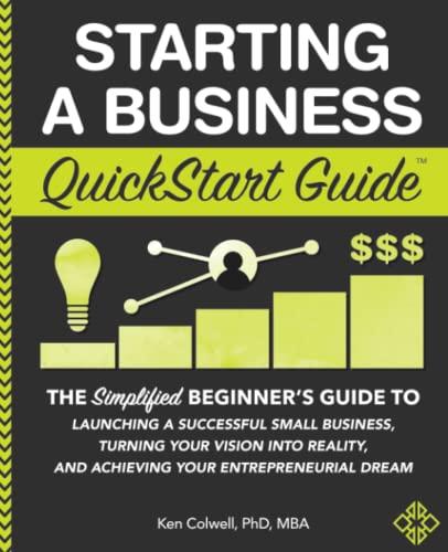 Starting a Business QuickStart Guid…