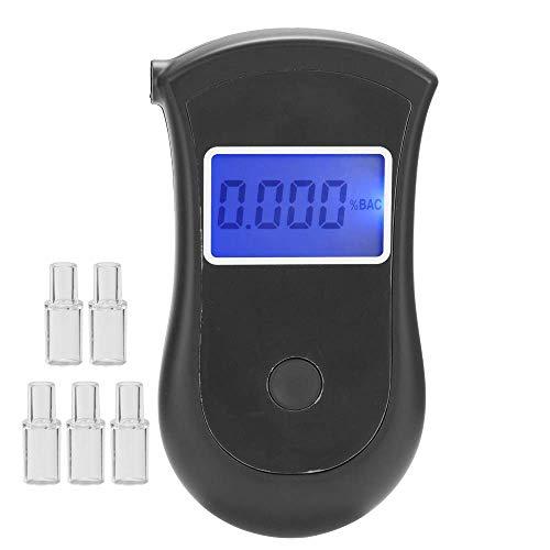 XUXUWA Metalldetektor, Alkohol-Tester Aufblasbare gewidmet Anti-Inspektion Alkohol Instrument Tragbares Atem Detector sicheres Fahren Werkzeug