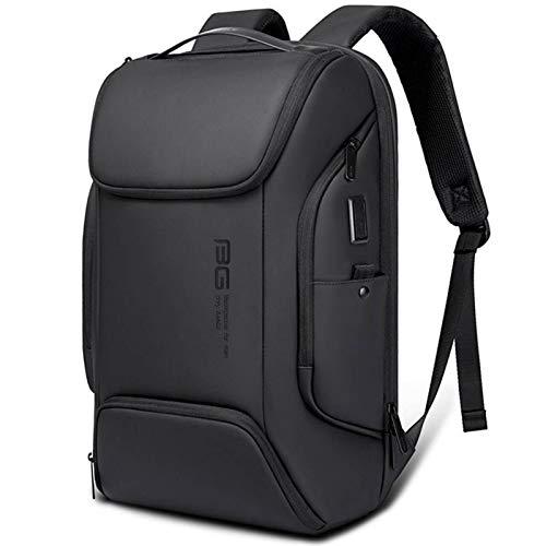 N\C Mochila de negocios de los hombres de la mochila coreana de la mochila de la computadora de la gran capacidad de los