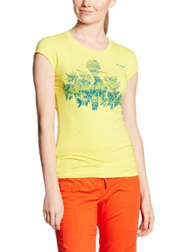 Salewa Chemisier pour Femme The Nugget cO w t-Shirt à Manches Courtes pour Homme XS Jaune/Noir - Motif Mimosa