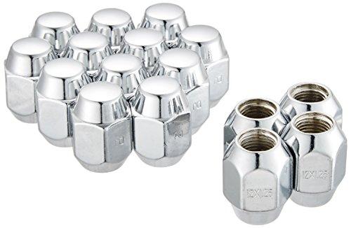 大自工業 ホイールナット 袋タイプ 16個入リ 適合レンチ21mm 1.25ピッチ ニッサン スバル スズキ用 N02-16