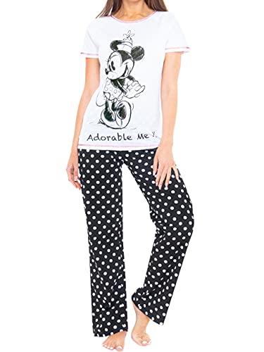 Disney Pijama para Mujer Minnie Mouse - Talla S
