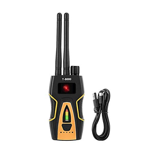 Sistema de Alarma 2020 para tu hogar, NAOTAI T8000 Detector de señal RF inalámbrico antiespía Monitor GPS escáner gsm buscador de cámara