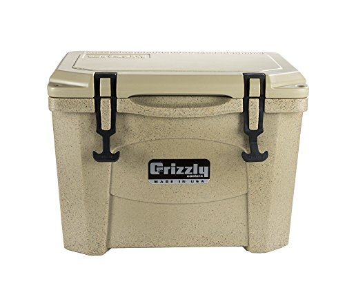 Grizzly 15 Quart Sandstone/Tan Cooler