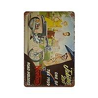 1959年のノートンロードホルダーの1つであるジュビリー さびた錫のサインヴィンテージアルミニウムプラークアートポスター装飾面白い鉄の絵の個性安全標識警告アニメゲームフィルムバースクールカフェ40cm*30