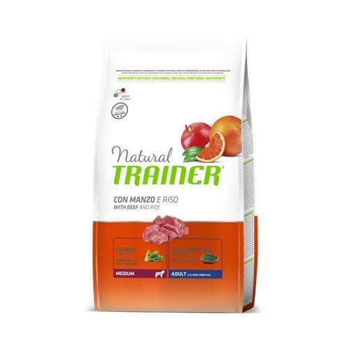 Trainer Natural Adult Medium Manzo 12kg