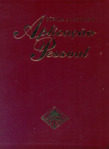 Bíblia de Estudo Aplicação Pessoal. Vinho - Volume 1