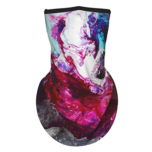 BULABULA Abstract painting Neck Gaiter Face Cover Scarf ma_s-k Bandana Adjustable ear straps, washable cloth, Multipurpose for outdoor home office work and cold protection