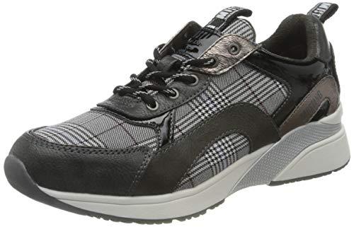 MUSTANG Damen 1358-304 Sneaker, 265 Graphit/grau, 36 EU