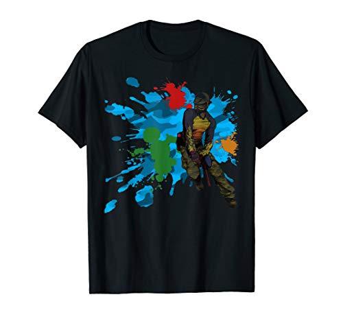 Paintball T shirt- Satisfactory paintball Shirt