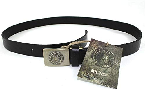 RW Hosengürtel Leder 30mm schwarz Gr.100