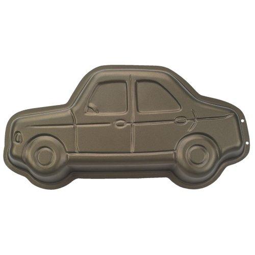 Enfants – Moule voiture avec recettes dans emballage cadeau (30 cm/anti-adhésif) Top Qualité