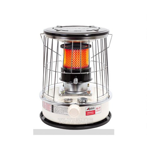TS-77 Compact size Kerosene Oil Heater For Camping Outdoor +Stove Bag Set/ Ivory