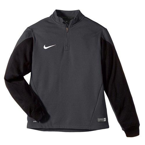 Nike Herren Sweatshirt Squad 14 Midlayer, Anthracite/Black/Electric Green/White, XL