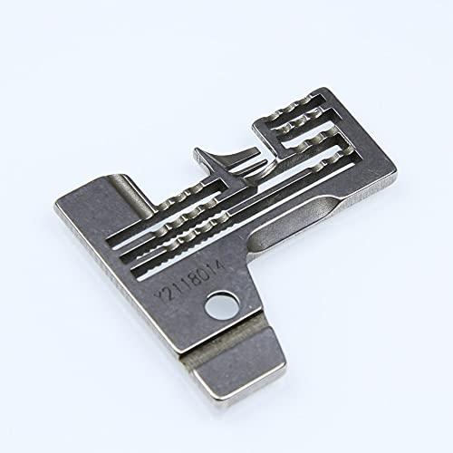 Fauge 2118014 Placa de Aguja Yamato AZ8451 Overlock Máquina de Coser Industrial Repuestos Accesorios de Costura Pieza de Costura