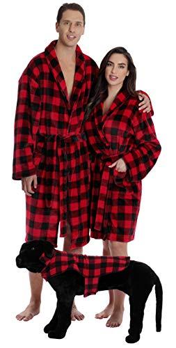 #followme Ultra Soft Velour Robes for Women 6749-10195-XL