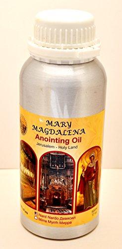Unción aceite Nard 500. ml–Fragancia en botellas de metal–100% Pure.