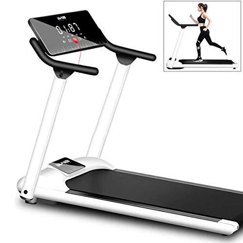 MXCYSJX - Cinta de correr motorizada, plegable, para correr, caminar, portátil, ultrafina y silenciosa, para gimnasio, pequeña máquina mecánica multifuncional