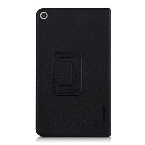 kwmobile Huawei MediaPad T1 7.0 Hülle - Tablet Cover Case Schutzhülle für Huawei MediaPad T1 7.0 - Schwarz mit Ständer - 3