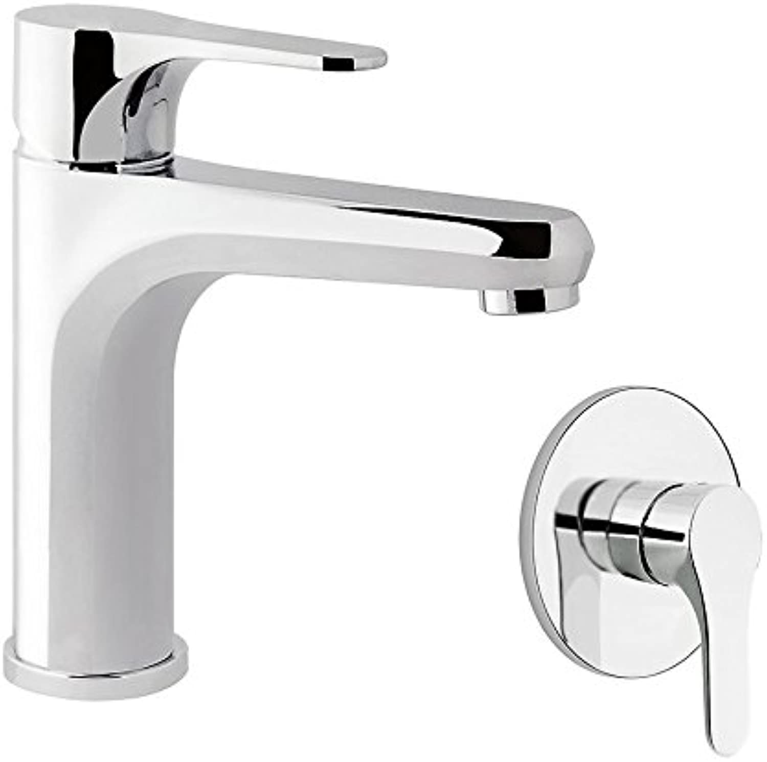 Group Built-in Lady and Single Lever Shower Single Lever Tap Lady, Drain 1? 1 4?with flexible, Made in