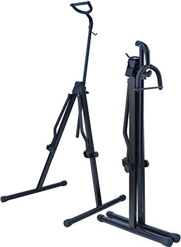 Steinbach, stabiler Celloständer aus Metall mit Bogenhaken und Halsaufnahme klappbar schwarz, passend für alle Cellogrößen von 1/16 bis 4/4