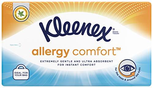 Kleenex ALLERGY COMFORT – Mouchoirs en papier – Maxi étui de 50 mouchoirs