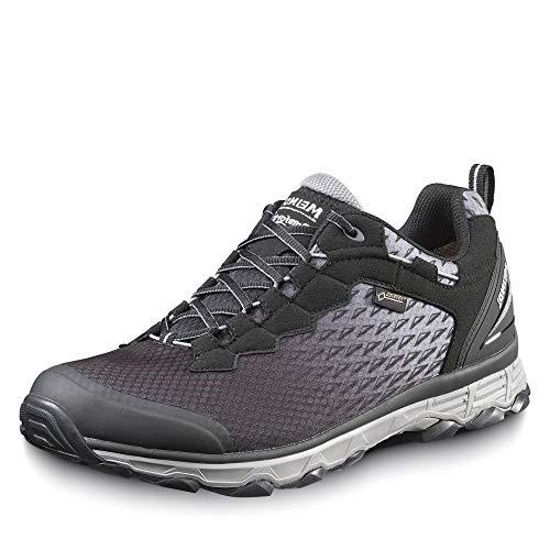 Meindl 5111 Herren Activo Sport Comfort Fit Gore-TEX® Outdoorschuh Sportlich, Groesse 44, schwarz/Silber