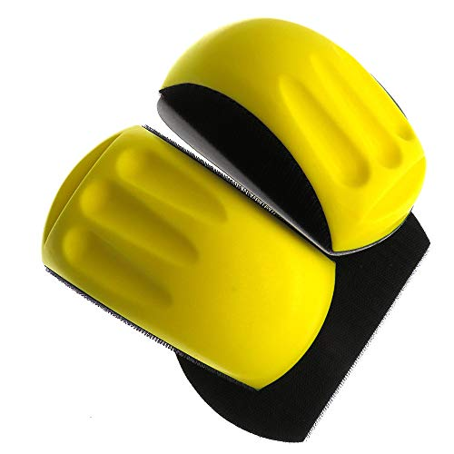 Disco de bloque de lijado con soporte de bucle de gancho para la restauración de muebles de carpintería Cuerpo automotriz para el hogar 6 en forma de ratón